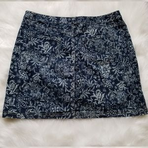 Christopher & Banks Skirts - Christopher & Banks Floral Skort